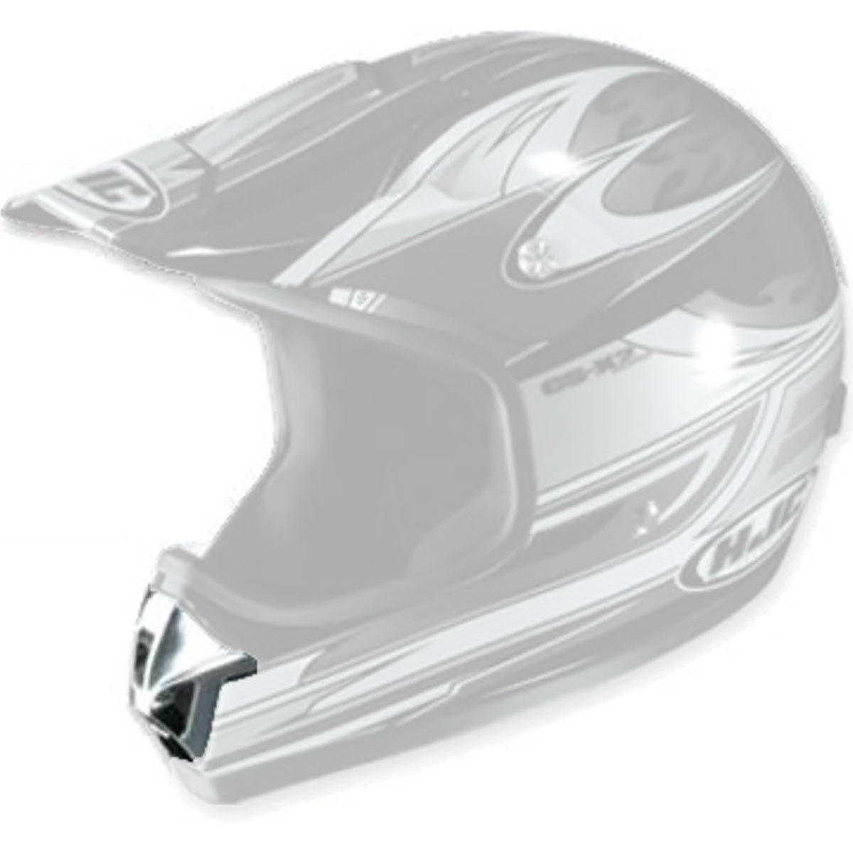 HJC CL-X2 Mouth Vent Helmet Accessories-10-959-1