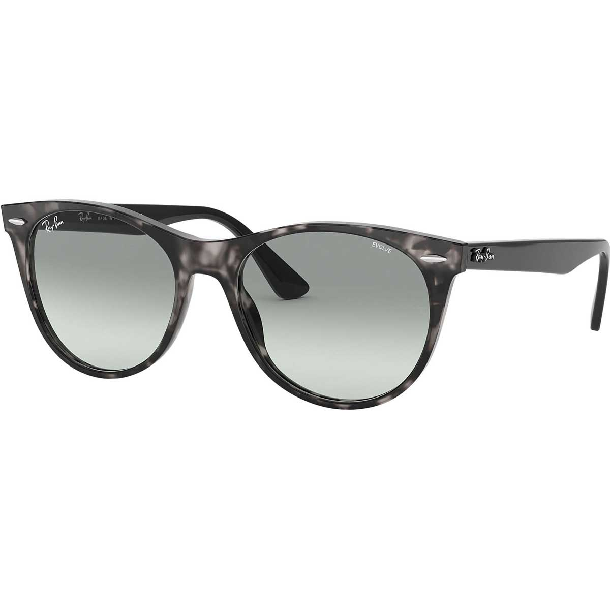 Ray-Ban Wayfarer II Washed Evolve Adult Lifestyle Sunglasses New - Missing Tags-0RB2185
