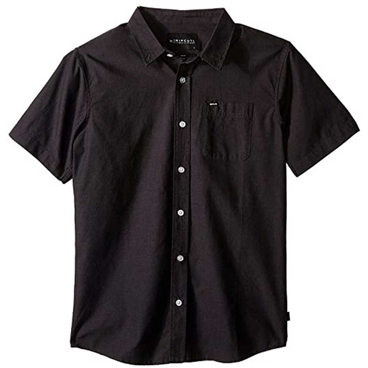 Rip Curl Ourtime Youth Boys Button Up Short-Sleeve Shirts-KSHGA7