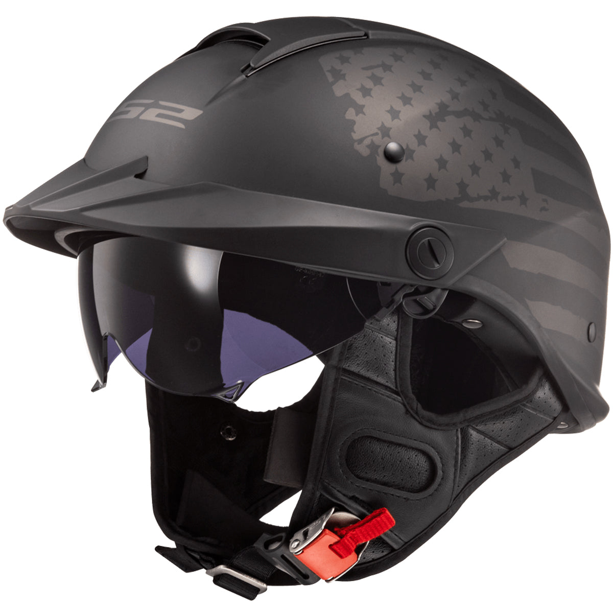 LS2 Rebellion 1812 Adult Cruiser Helmets-590