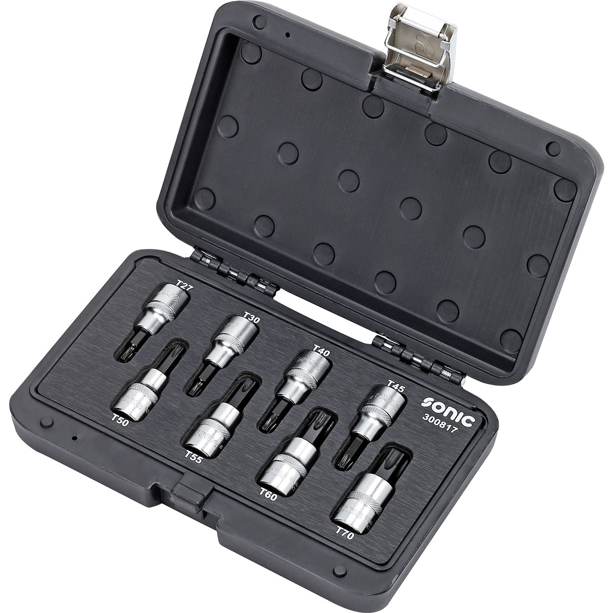 "Sonic Tools 1/2"" 8pcs BMCS Bit Socket TX Tool Set-300817"