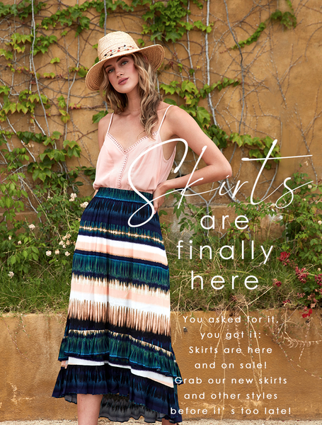 New Style Alert: Skirts Are Finally Here!
