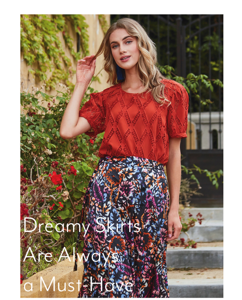 Dreamy Skirts Are Always a Must-Have