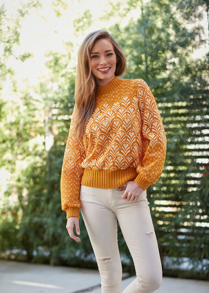 Gayla Lace Sweater
