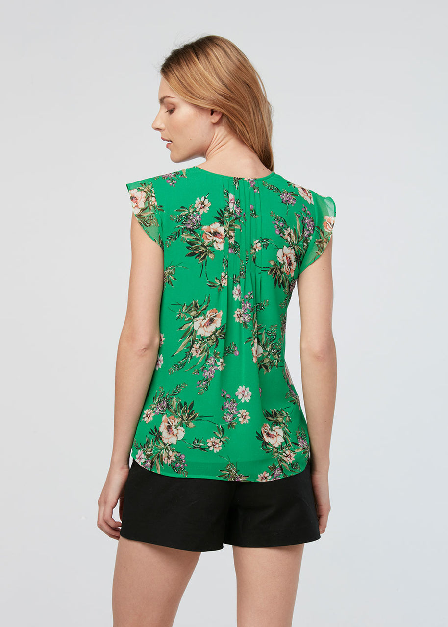 Green Floral