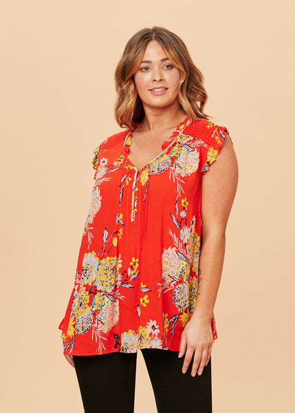 The Summer+ Orange Floral