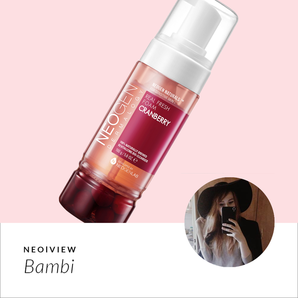 NEO I VIEW <br> Natural Cleanser With Cranberries? Cranberry Foam Cleanser Review - NEOGEN GLOBAL