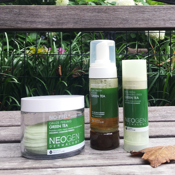 NEO I TRENDING<br> All Greens! These are Green Tea  Products that'll change your skin - NEOGEN GLOBAL