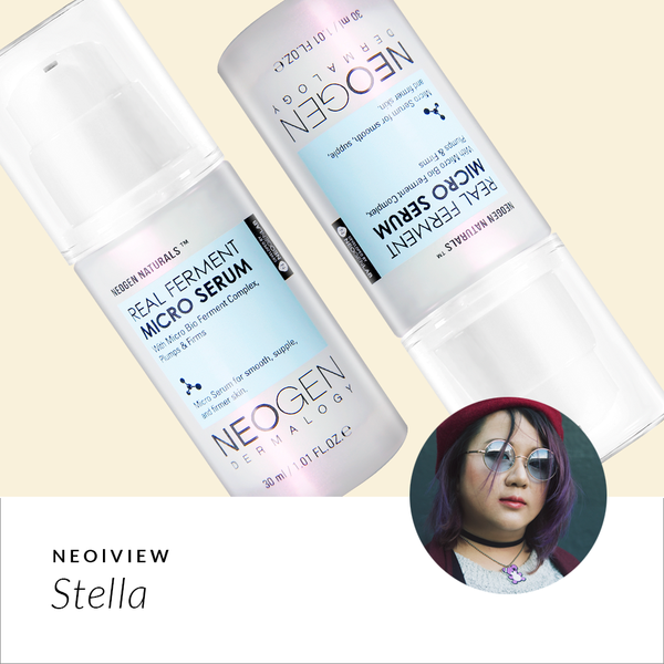 NEO I VIEW<br>Real Ferment Micro Serum<br>Review by Stella - NEOGEN GLOBAL
