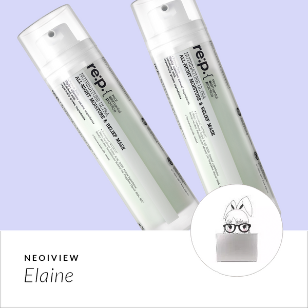 NEO I VIEW<br>RE:P All-night Moisture & Relief Mask Review by Elaine - NEOGEN GLOBAL