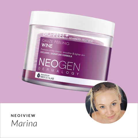NEO I VIEW<br>Bio-Peel Gauze Peeling Wine<br>Review by Marina