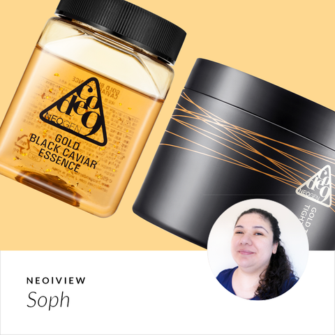 NEO I VIEW<br> Gold Black Caviar Essence & Tox Tightening Pack Kit Review