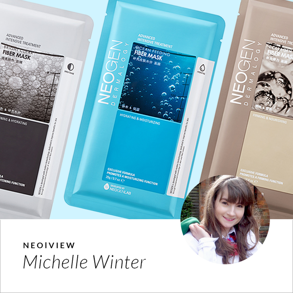NEO | VIEW<br>Neogen Sheet Mask Haul<br>By Michelle Winter