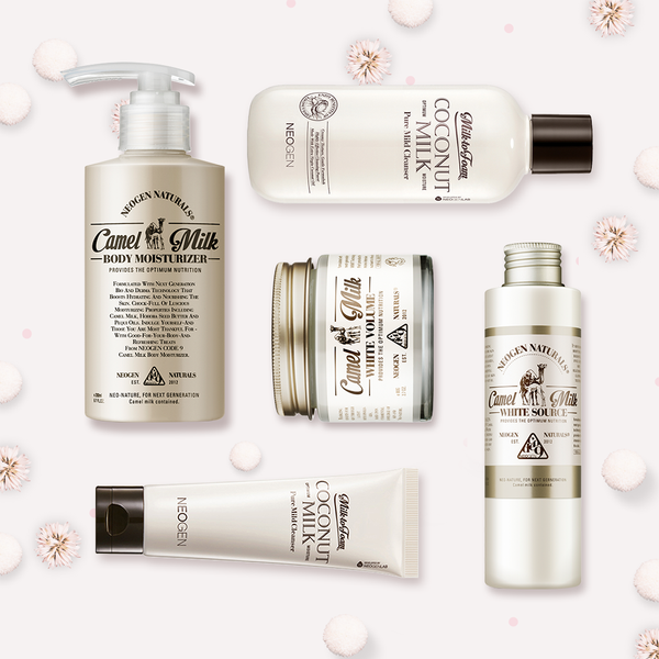 NEO|TRENDING<br>Glowing Skin Pamper<br>Camel & Coconut Milk