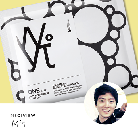 NEO | VIEW<br>WYT Oxygen AHA Bubble Peeling Mask<br>by Min