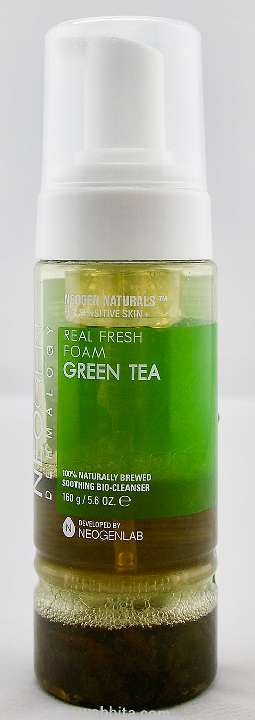 Real Fresh Foam Green Tea Review