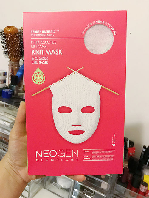 Pink Cactus Liftmax Knit Mask Review