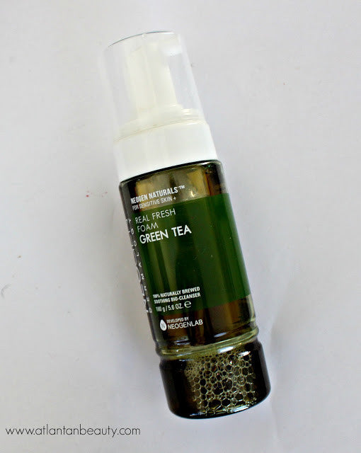 Real Fresh Foam Cleanser Green Tea1