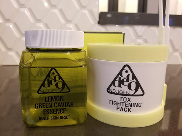 Lemon Green Caviar Essence Tox Tightening Pack