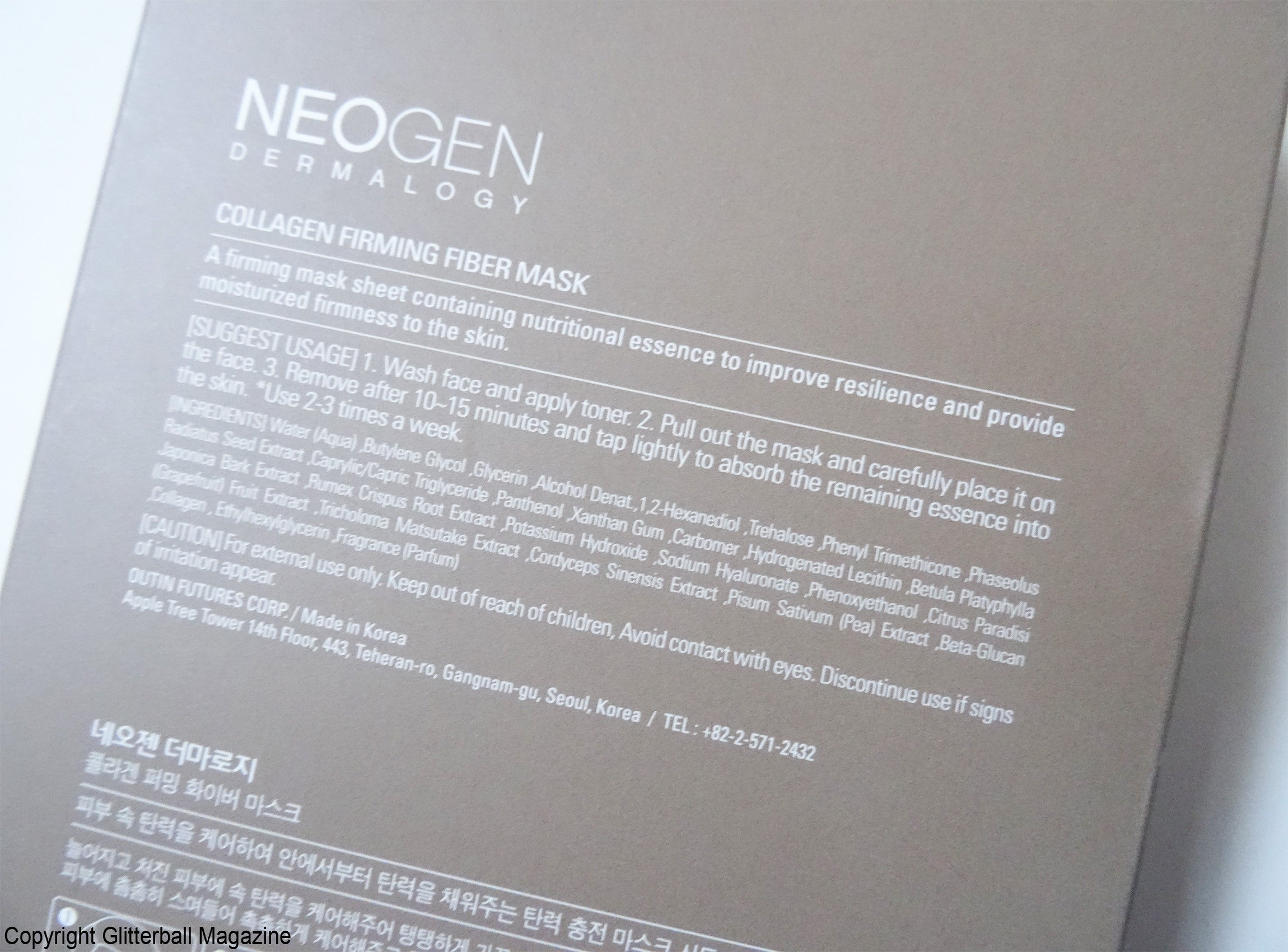 Neogen Collagen Firming Sheet Masks_4