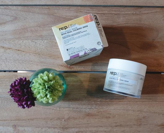 re:p Bio Fresh Mask with Real Calming herb_Soko Glam