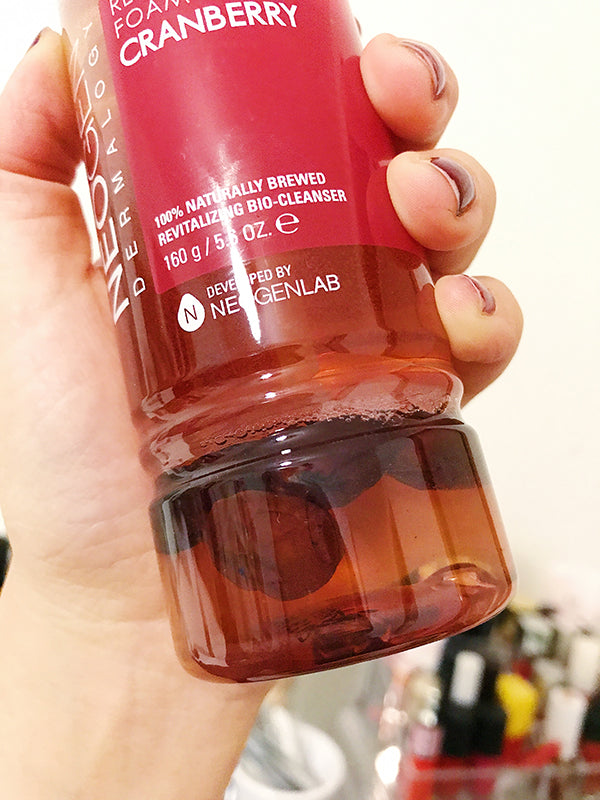 Real Fresh Foam Cleanser Cranberry Review