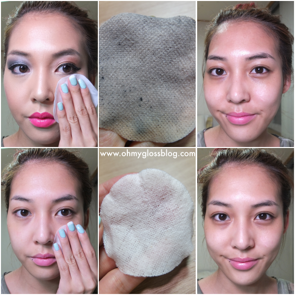 Rep remover pads and toning pad