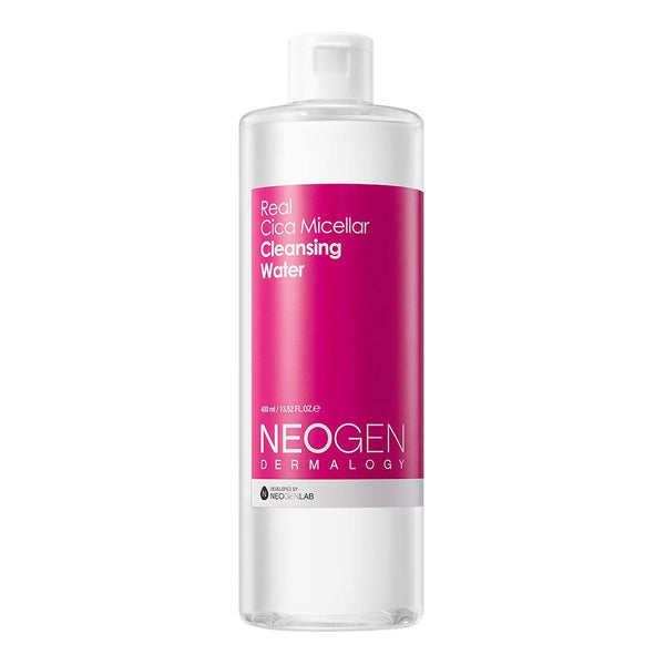 NEOGEN DERMALOGY REAL CICA MICELLAR CLEANSING WATER 13.52 oz / 400ml - NEOGEN GLOBAL