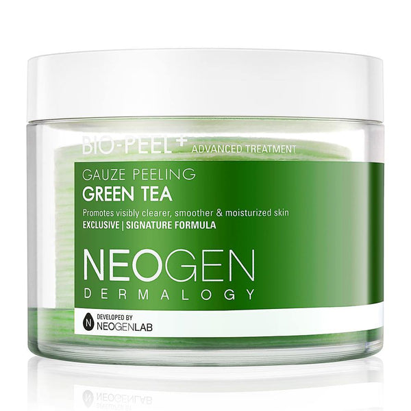 [GREENER DUO] NEOGEN DERMALOGY BIO-PEEL GAUZE PEELING GREEN TEA + REAL FRESH FOAM GREEN TEA - NEOGEN GLOBAL