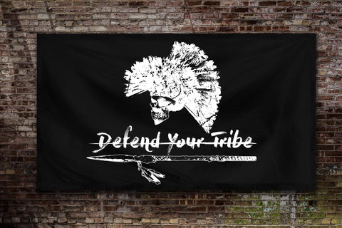 Defend Your Tribe Flag