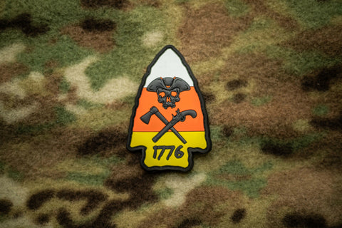 Limited Edition Halloween Arrowhead Morale Patch