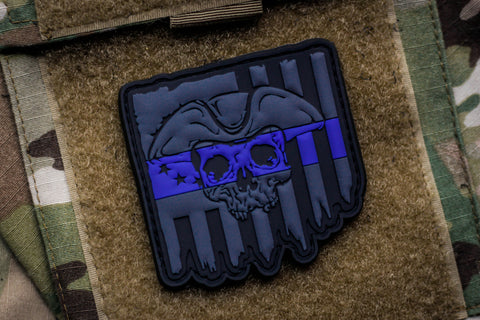 We The People Blue Line Morale Patch