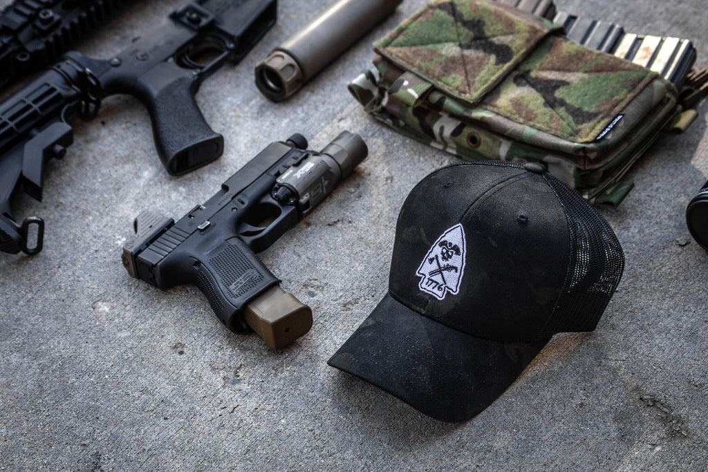 Multicam Black Arrowhead Trucker Hat PRE-ORDER