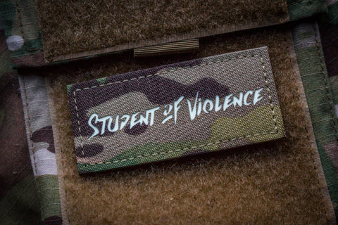 Student of Violence Morale Patch Multicam