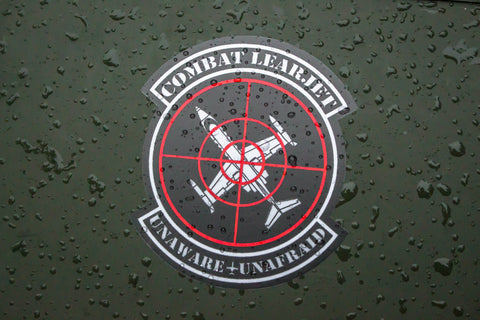 Combat Learjet Sticker