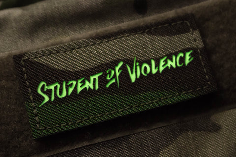 Student of Violence M81 Woodland Morale Patch