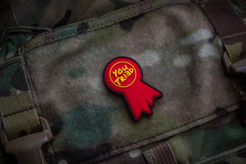 Participation Award Red Morale Patch