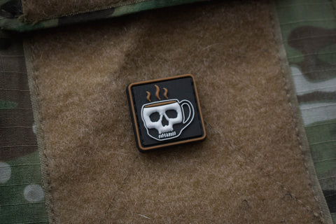 Coffee Ranger Eye Morale Patch