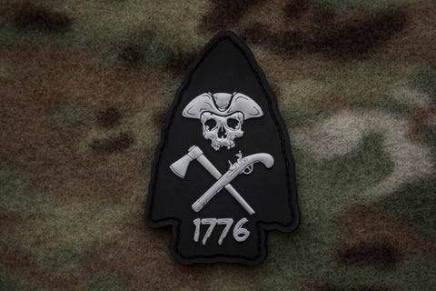 Arrowhead Black Morale Patch