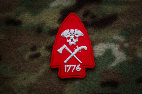Arrowhead Red Morale Patch
