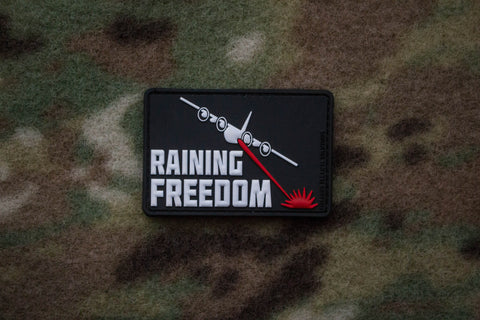 Raining Freedom Color Morale Patch