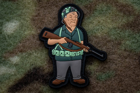 King of the hill that's my purse morale patch tactical military.