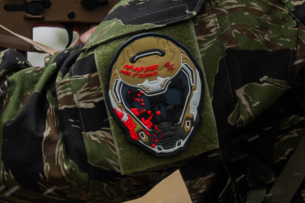 DOOM Helmet Morale Patch