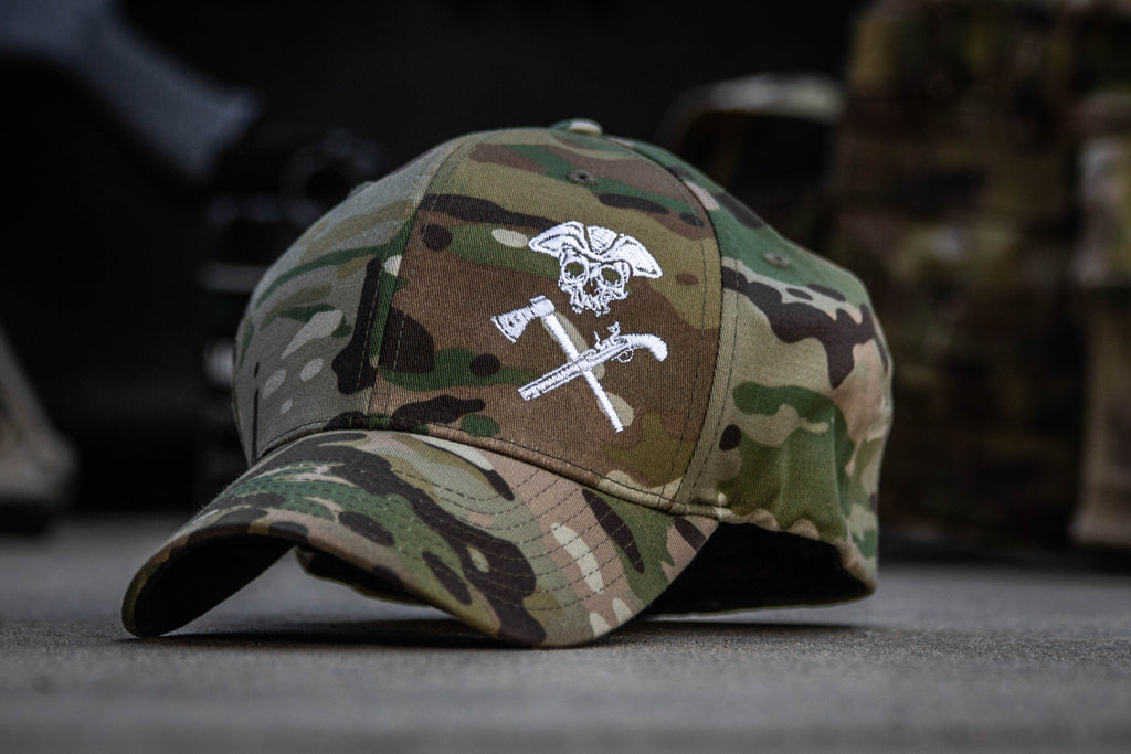 e1a5389ce584c Jolly Roger Multicam FlexFit Hat. Previous Next