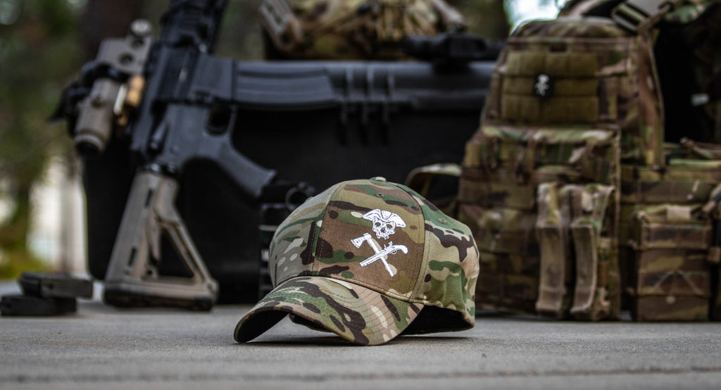 Jolly Roger Multicam FlexFit Hat Pre-Order