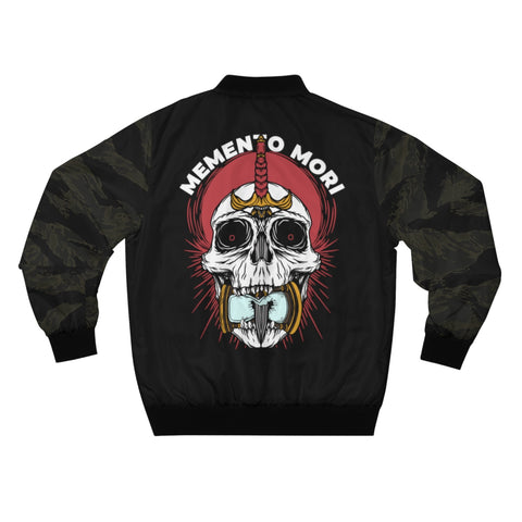 Memento Mori Bomber Jacket Black Tiger