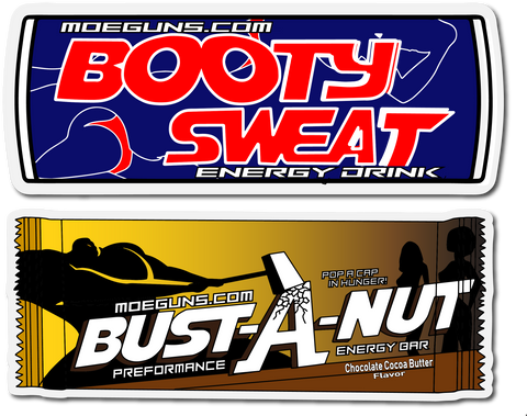 Booty Sweat Sticker Pack