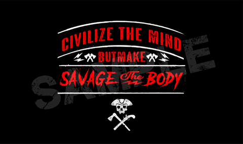 Civilize The Mind Wallpaper