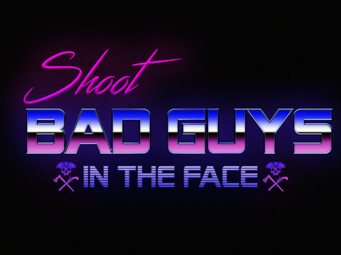 Shoot Bad Guys Smartphone Wallpaper