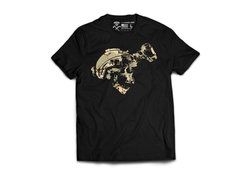 Guns Gear & Beer Tri Color Desert Shirt